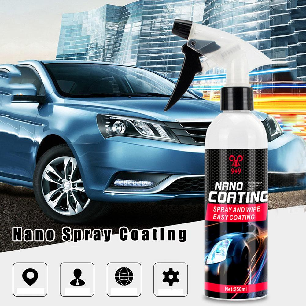 Nano Spray Coating Auto Rearview Mirror Repellent Agent Car Glass Anti Water Front Windshield Anti-Rain Agent With Towel