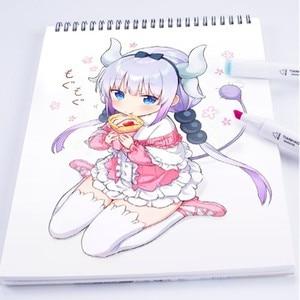 Image 5 - CHENYU 168 Farben Kunst Marker Alkohol Auf Wasserbasis Stift Dual Kopf Skizze Marker Pinsel Stift Für Zeichnung Manga Design Übersee Lager