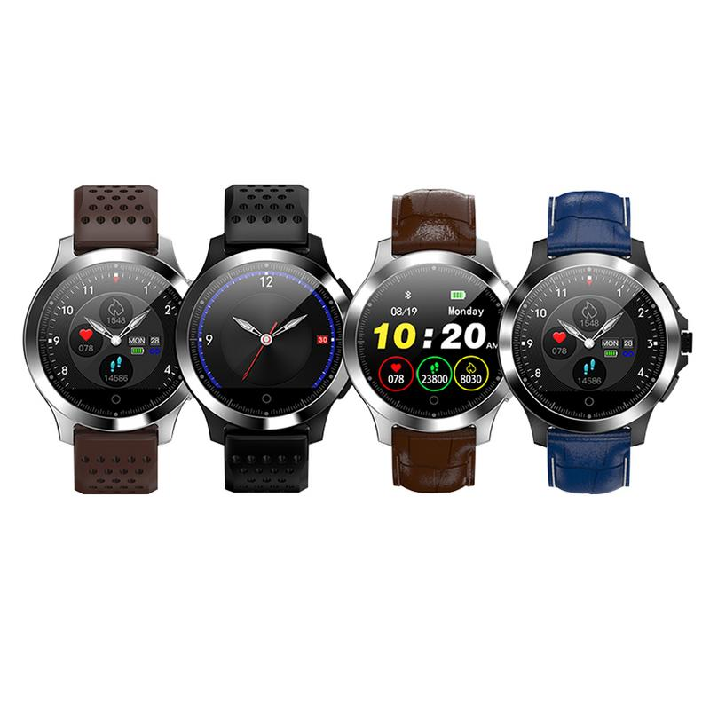 W8 Smart Watch Color Screen ECG And Heart Rate Blood Pressure Monitor Multi function IP67 Waterproof Sports For Android And IOS
