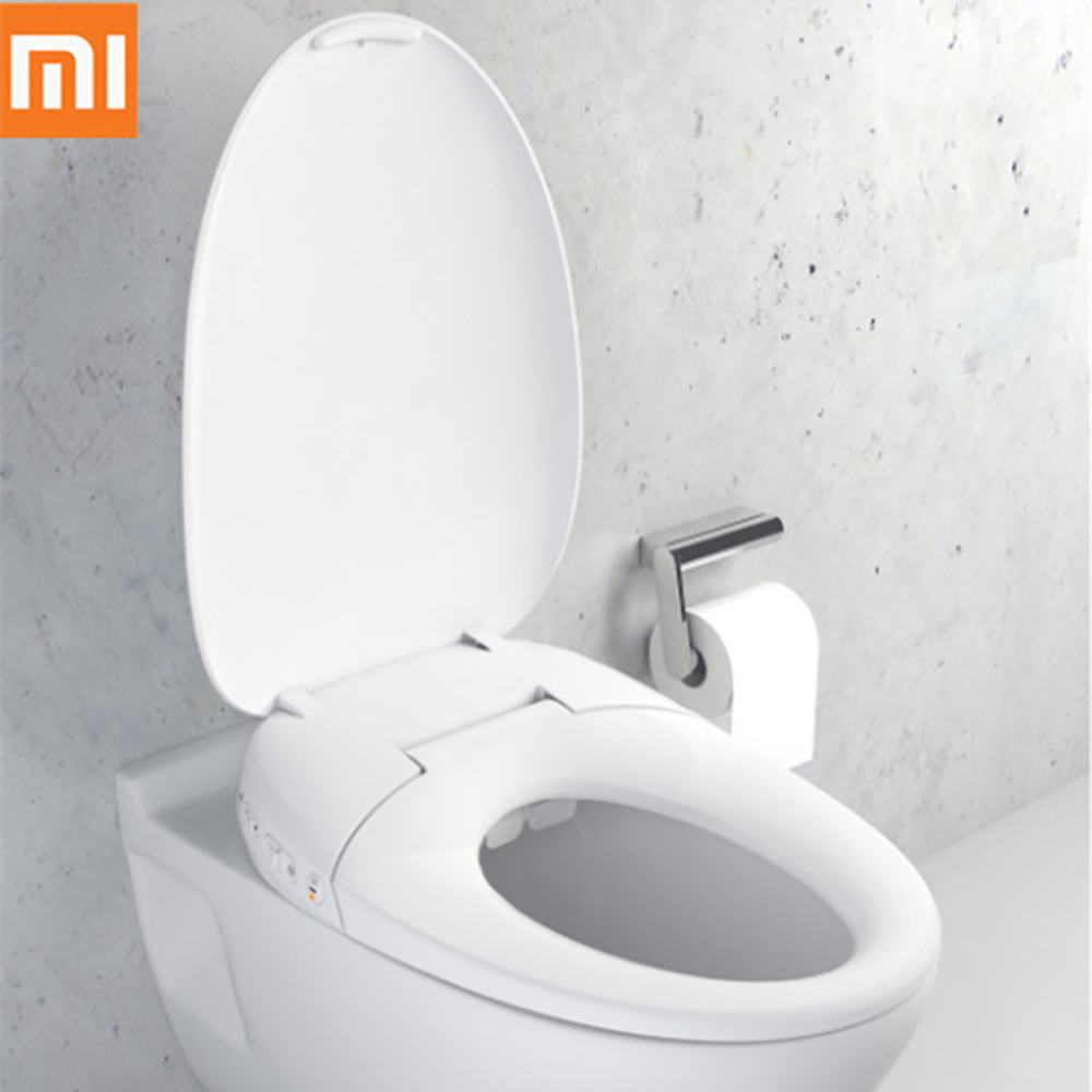 Xiaomi Mijia Smart Drying Comfortable Toilet Lid Pro LED Lighting Warm Air Drying Waterproof MIJIA App Control For Smart Home
