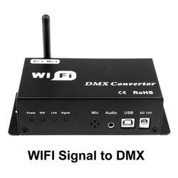 WF310 Rgb Led Controller Wifi 12v Rgb Led Strip Controller Wifi Rgb Controller Output DMX Signal Only Phone Controled