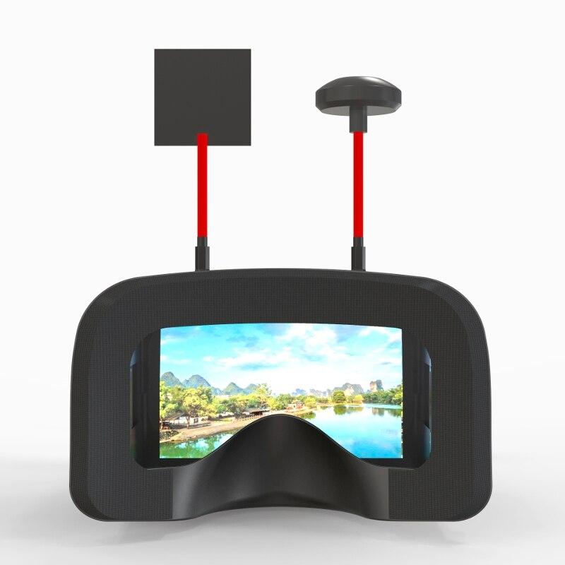 Eachine VR D2 Pro 5 Polegadas 800*480 40CH 5.8G Diversidade FPV Goggles w/DVR Lente Ajustável óculos de vídeo para FPV Quadcopter Zangão