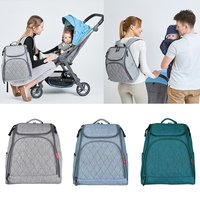 Large Capacity Mummy Maternity Nappy Bag Nursing Backpack Baby Diaper Bag Mommy Bag for Baby Care Travel Outdoor Activity