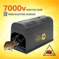 Reusable Electric Rat Mouse Traps Mousetrap Killer Mice Rodent Catching Catcher Hige Voltage Animal Pest Control Killing Trap