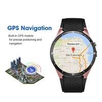 Умные часы Kw88 Pro ОС Android 7,0 Smartwatch 1 Гроа + 16 грамм поддержка sim карты Gps Bluetooth часы Смарт для мужчин для Ios