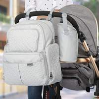 3 PCS/set Anti Theft Multifunction Maternity Diaper Bag Mother Baby Care Large Waterproof Travel Nursing Nappy Bags Baby Care