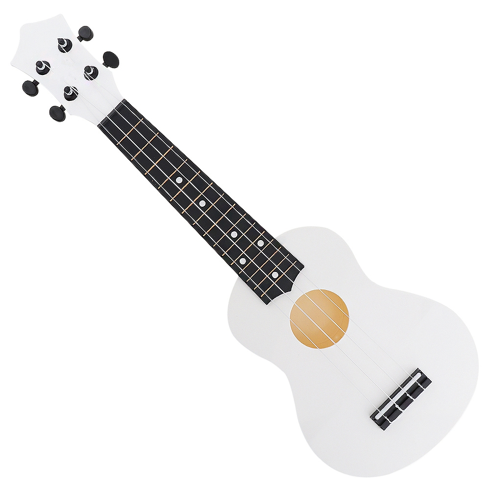 New IRIN 21 Inch Soprano Ukulele 15 Fret Abs Material 4 Strings Hawaii Guitar With Pick For Kids And Beginner