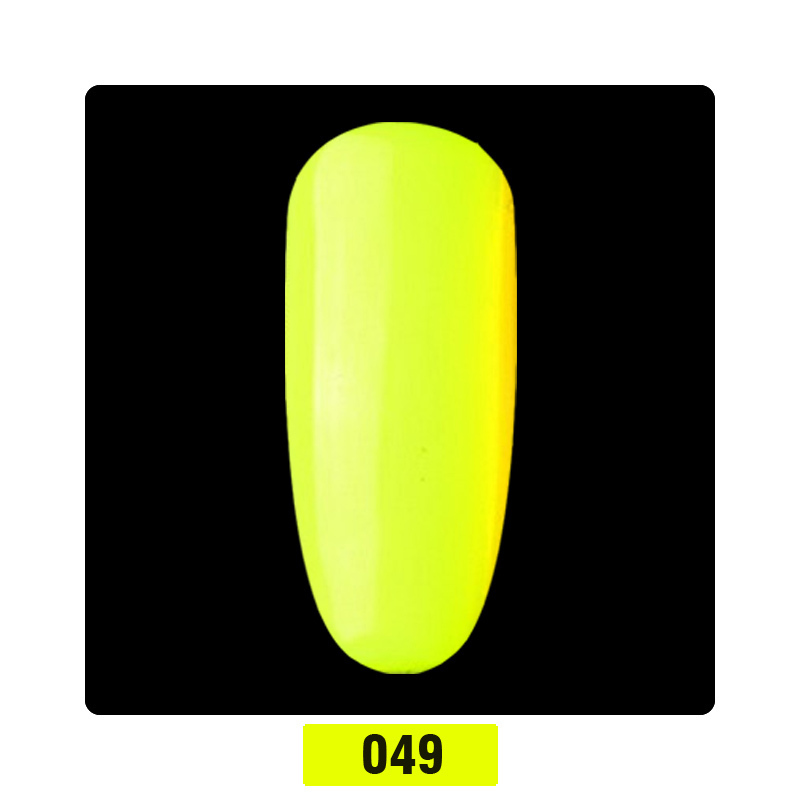Beautilux 1pc Summer Collection Neon Yellow Red Pink Gel Nail Polish UV LED Gel Varnish Nails Art La