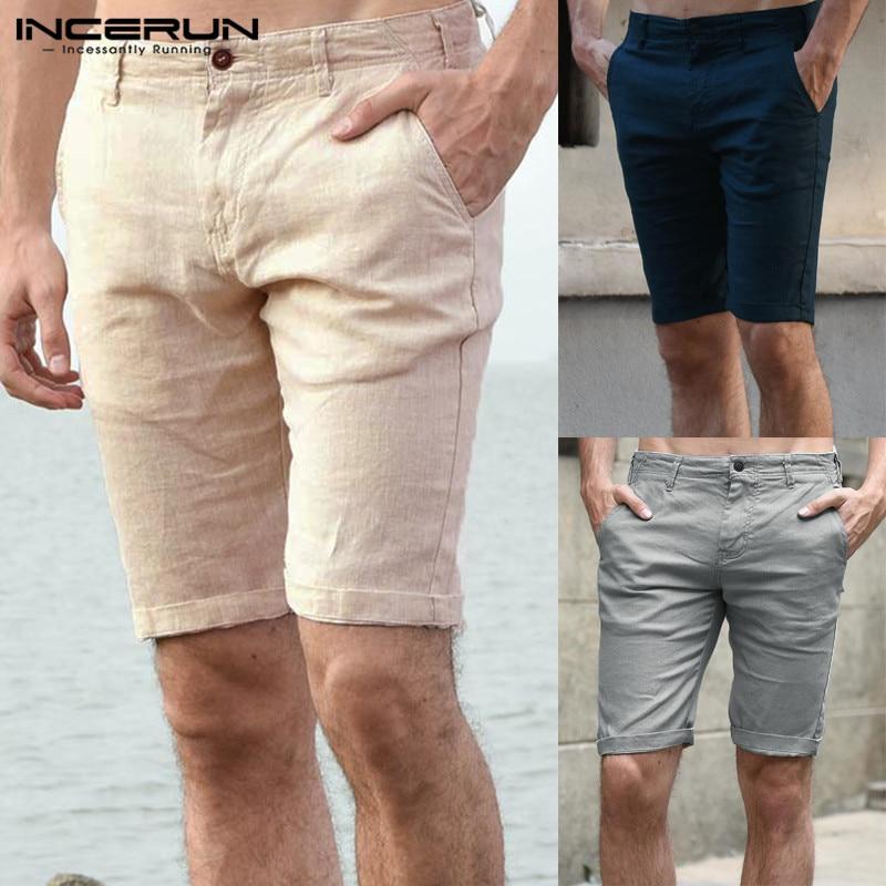 Stylish 3XL Knee Length Shorts Casual Shorts Slim Fit Men Cotton Summer Formal Men Shorts Masculina Fashion Beach Joggers Track