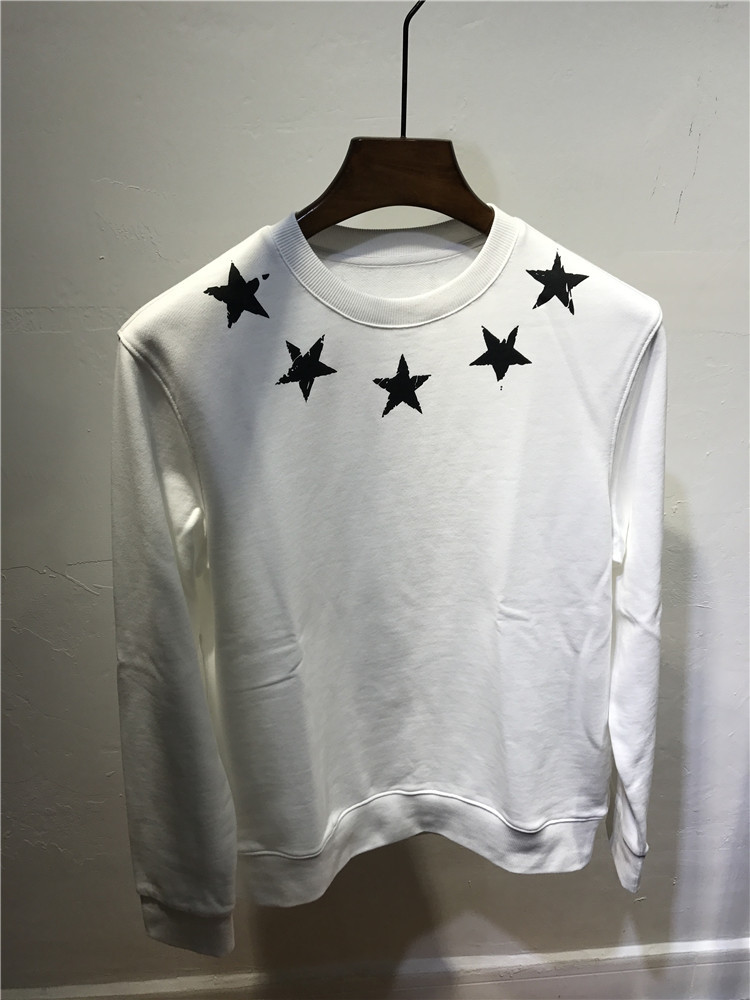Pullover Star-Print Sweatshirts Clothing Designer Autumn Winter New-Fashion for Men Women