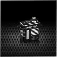 KINGMAX KM1203MD-20g 9kg. cm gearsr 34g de metal Mini caixa de Metal Servo digital Para Modelos de RC