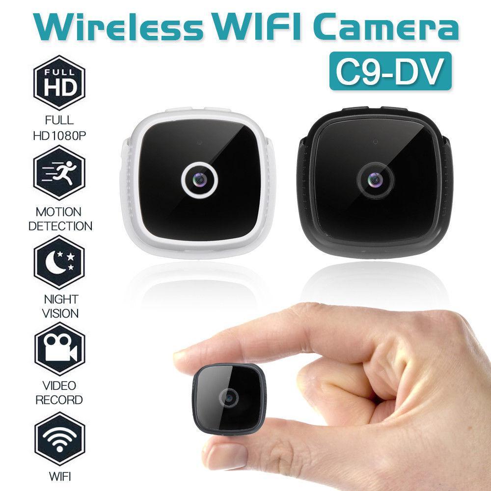 BEESCLOVER камера C9 DV wifi HD 1080P беспроводная камера безопасности видеокамера ИК ночного видения маленькая Автомобильная Спортивная камера видео ...