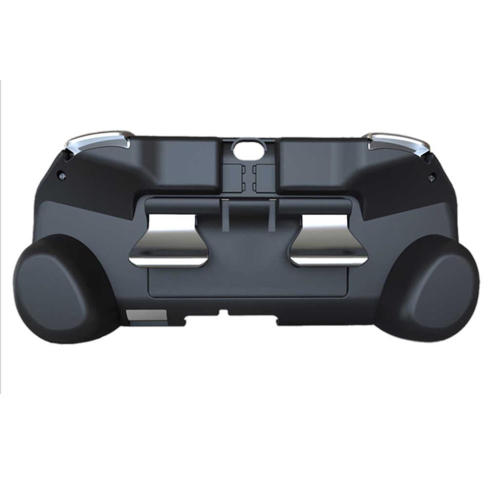 L3 R3 バックタッチパッドボタンモジュールのための ps ヴィータ PSV 1000 2000 同期からゲーム PS3 PS4 コンソールゲームアクセサリー黒