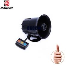 Alarm-Horn Siren Ambulance Sound-Vehicele Multi-Tone Police Universal Auto 30W 12V Waring