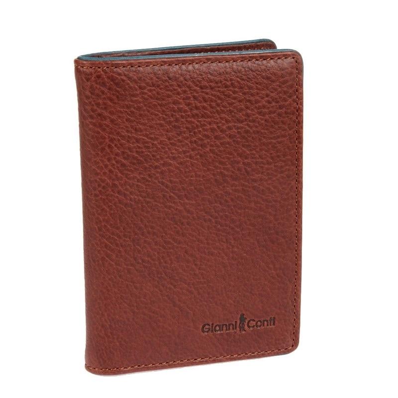 Cover for avtodokumentov Gianni Conti 1757456 brown teal обложки для документов gianni conti 1757456 black grey