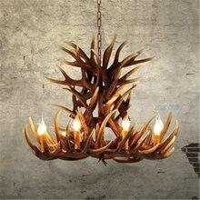 Потолочная люстра светодиодный светильник в стиле ретро