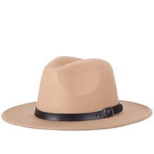 Zima jesień imitacja wełniane kobiety mężczyźni panie Fedoras Top jazzowy kapelusz europejski amerykański okrągłe czapki melonik kapelusze tanie tanio NoEnName_Null WOMEN Dla dorosłych Z wełny Na co dzień Cartoon hats for women 56-58CM Autumn Winter