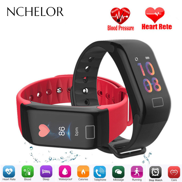 F1 Plus Sport Bracelet Heart Rate Monitor Fitness Tracker Watch Sleep Tracking P