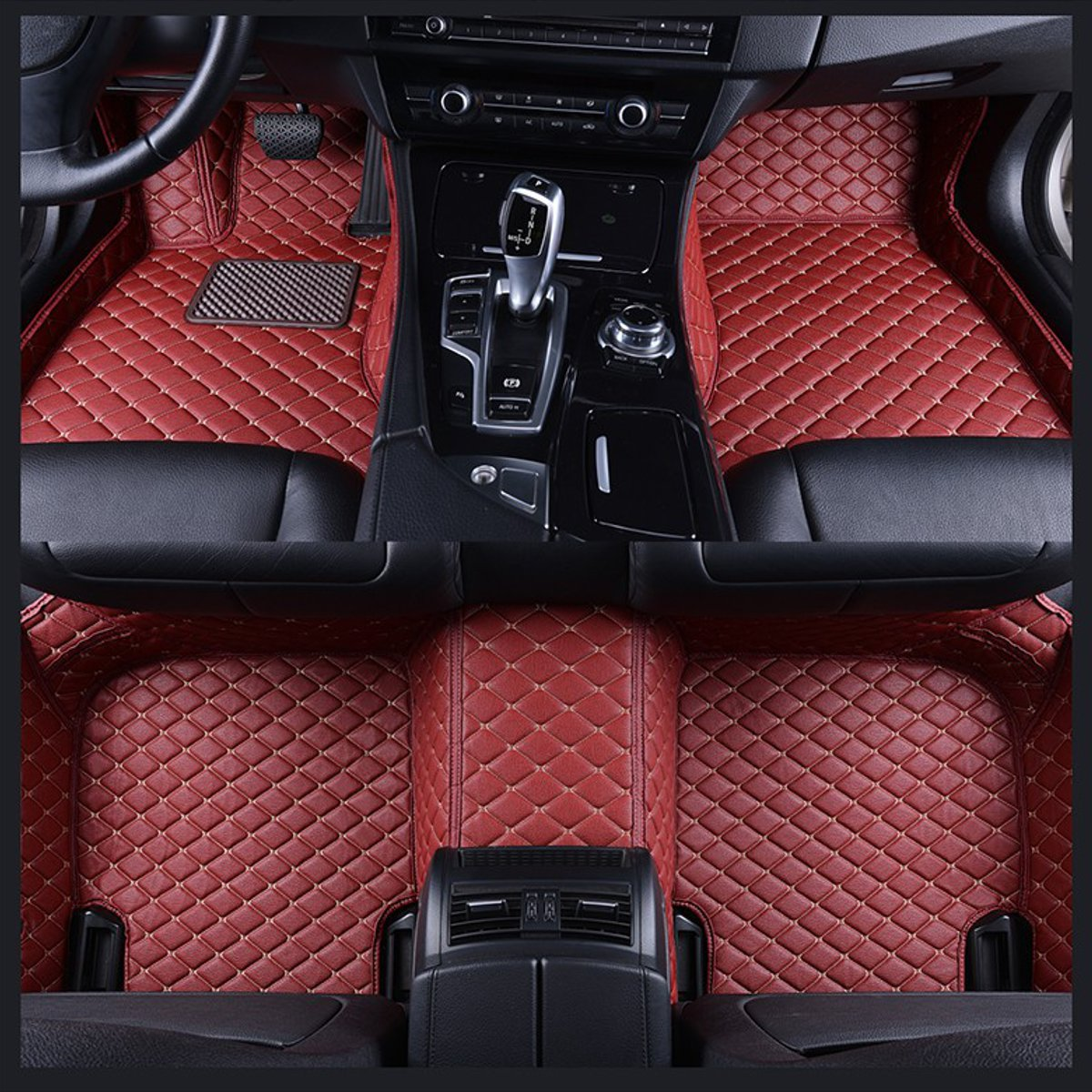 BMW 3 SERIES E93 LEFT DRIVE CABRIOLET 05-11  BEIGE QUALITY CAR MAT  4 x PADS
