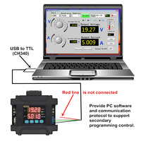 DC DC 10 75V TO 0 60V 5A Constant Voltage Current Programmable CNC adjustable DC power supply FOR solar charging/battery /LED