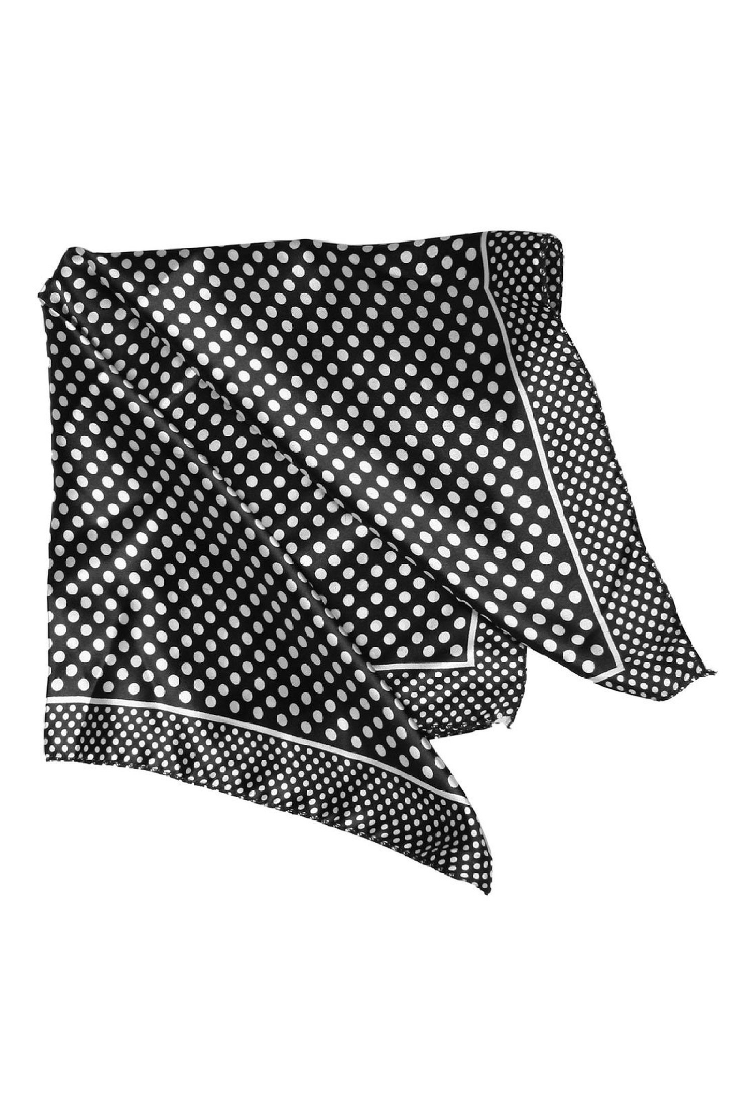 """Print Polyester 20"""" Kerchief Neck Scarf for Woman"""