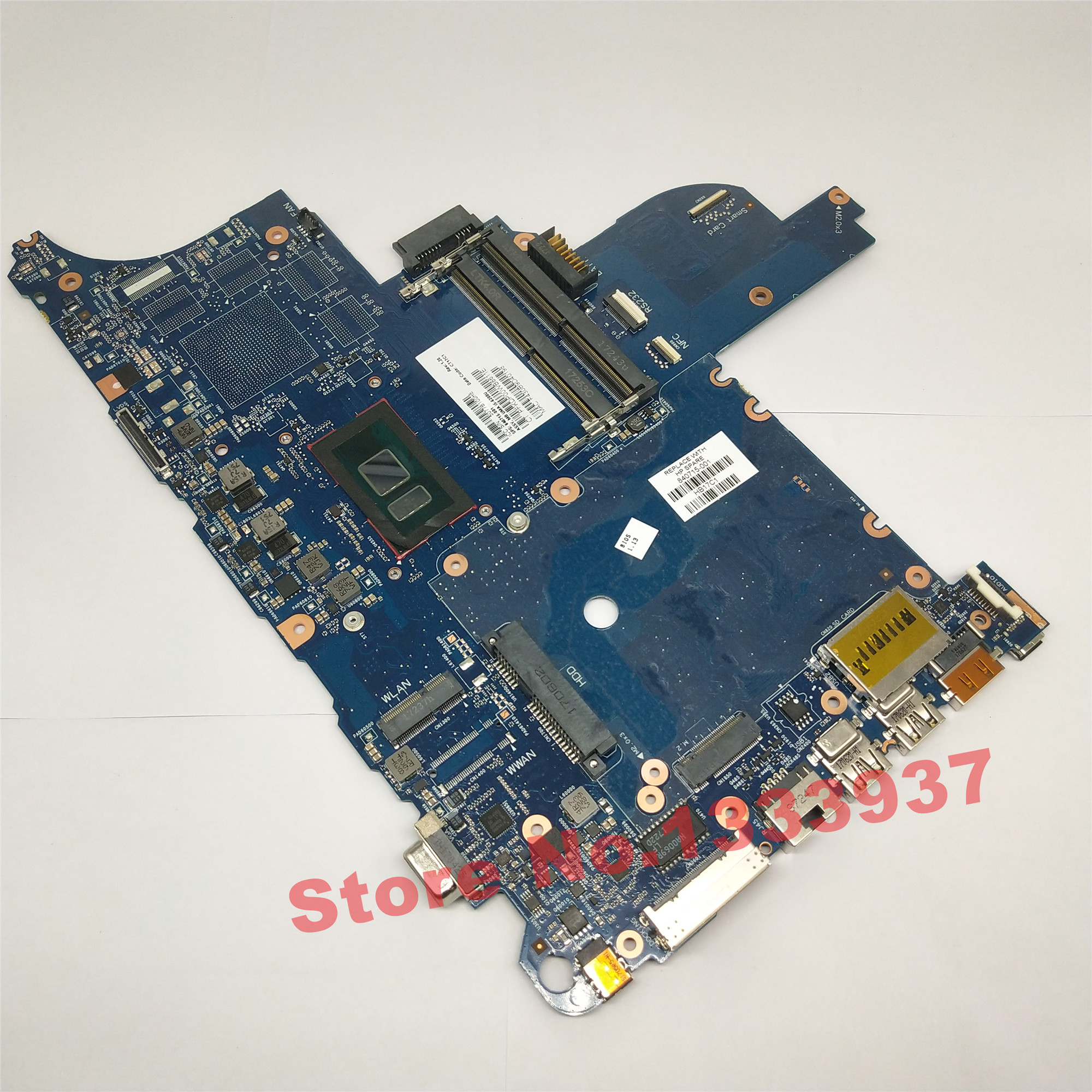 Mainboard 840715-001 840715-601 840715-501 For HP ProBook 640 G2 <font><b>650</b></font> G2 640-G2 <font><b>650</b></font>-G2 Laptop motherboard <font><b>I5</b></font>-6200U Notebook PC image