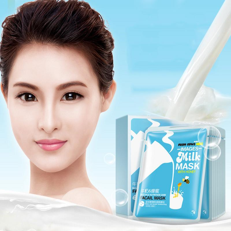 Skin Care Women Face Masks Milk Honey Mo