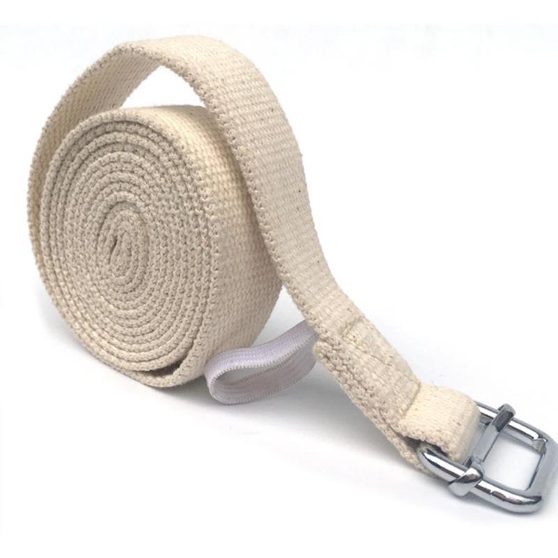 Adjustable Yoga Gym Stretch Strap D-ring Belt Figure Waist Leg Resistance Band