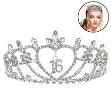 2019 New Fashion Exquisite Crown Headband Creative Rhinestone Bridal Party Hair Accessories For Wedding