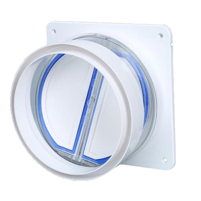 Reasonable High Quality Kitchen Range Hoods Check Valve Anti Odor Control Bathroom Check Valve Back-pressure Valve Non-return Flap Valve Home Appliance Parts