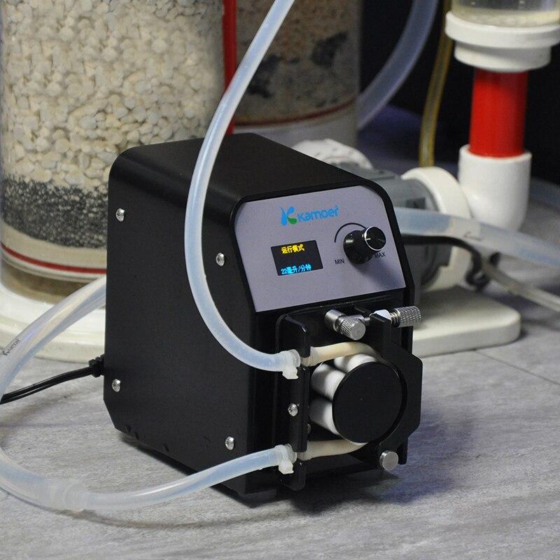 Kamoer FX-STP Peristaltic Pump Aquarium Calcium Reactor Pump Small Water Pump Easy Use Rotary Pump Continuous Use US PlugKamoer FX-STP Peristaltic Pump Aquarium Calcium Reactor Pump Small Water Pump Easy Use Rotary Pump Continuous Use US Plug