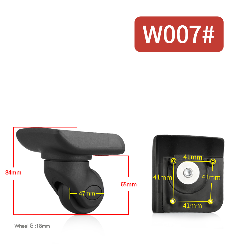 Trolley Case Luggage Wheel Repair Universal Travel Suitcase Parts Accessorie ssuitcase card rolling   Replacement Luggage Wheels