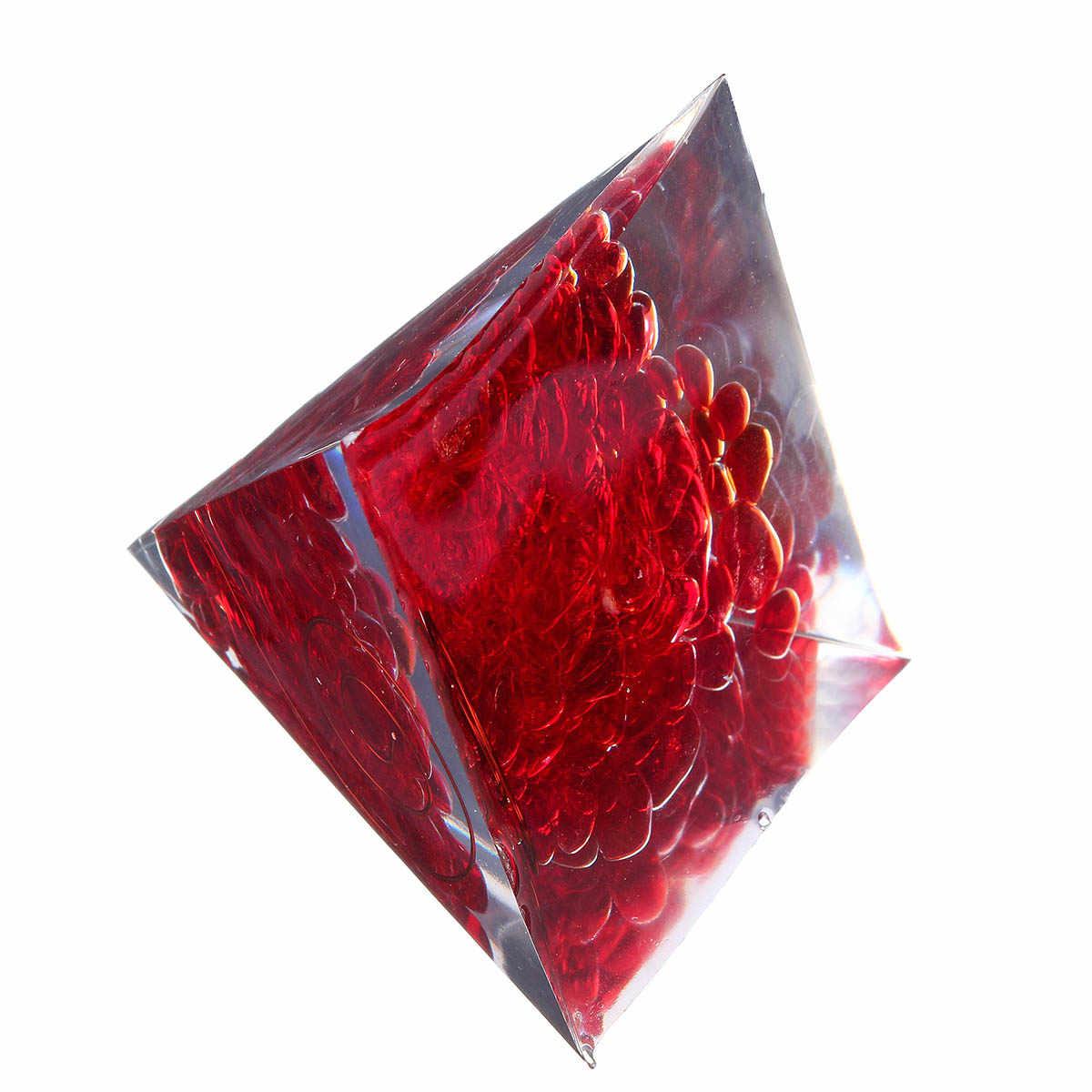 Jasper màu đỏ Kim Tự Tháp Đá Orgorne Đá Quý Tự Nhiên Organit Thạch Anh Pha Lê Năng Lượng Vòng Tròn Chữa Bệnh Fengshui Trang Trí Nội Thất Thủ Công Mỹ Nghệ Quà Tặng