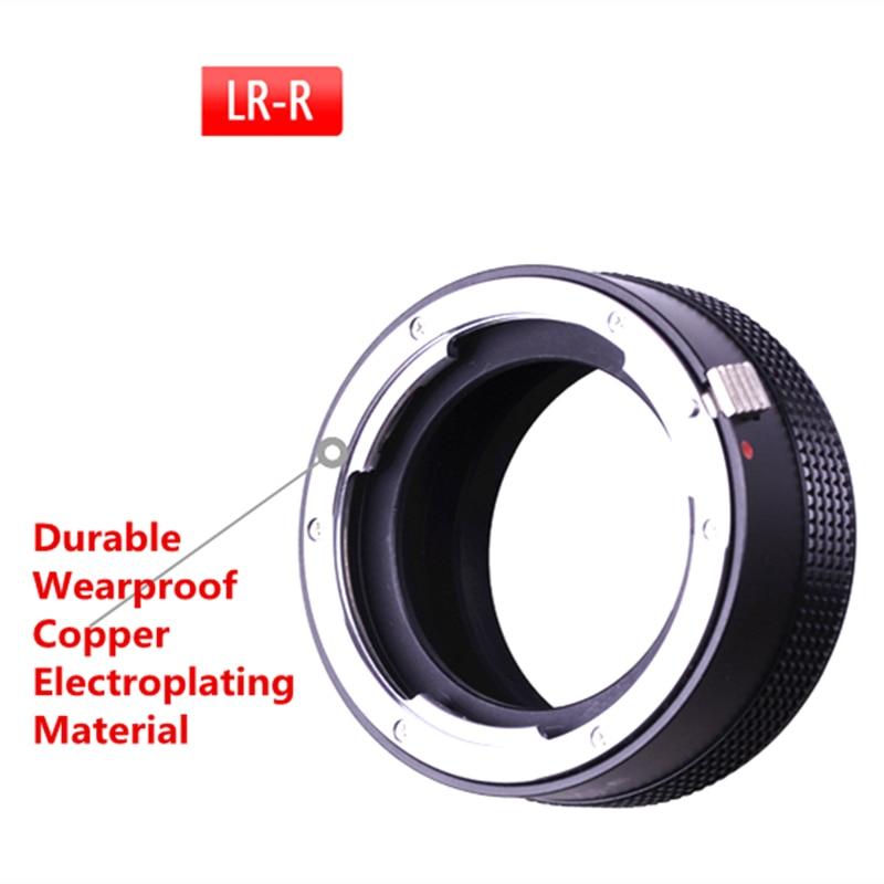 LR-RF LR-EOSR adaptateur de monture d'objectif pour objectif Leica R et Canon EOS R corps de caméra LR à adaptateur RF - 3