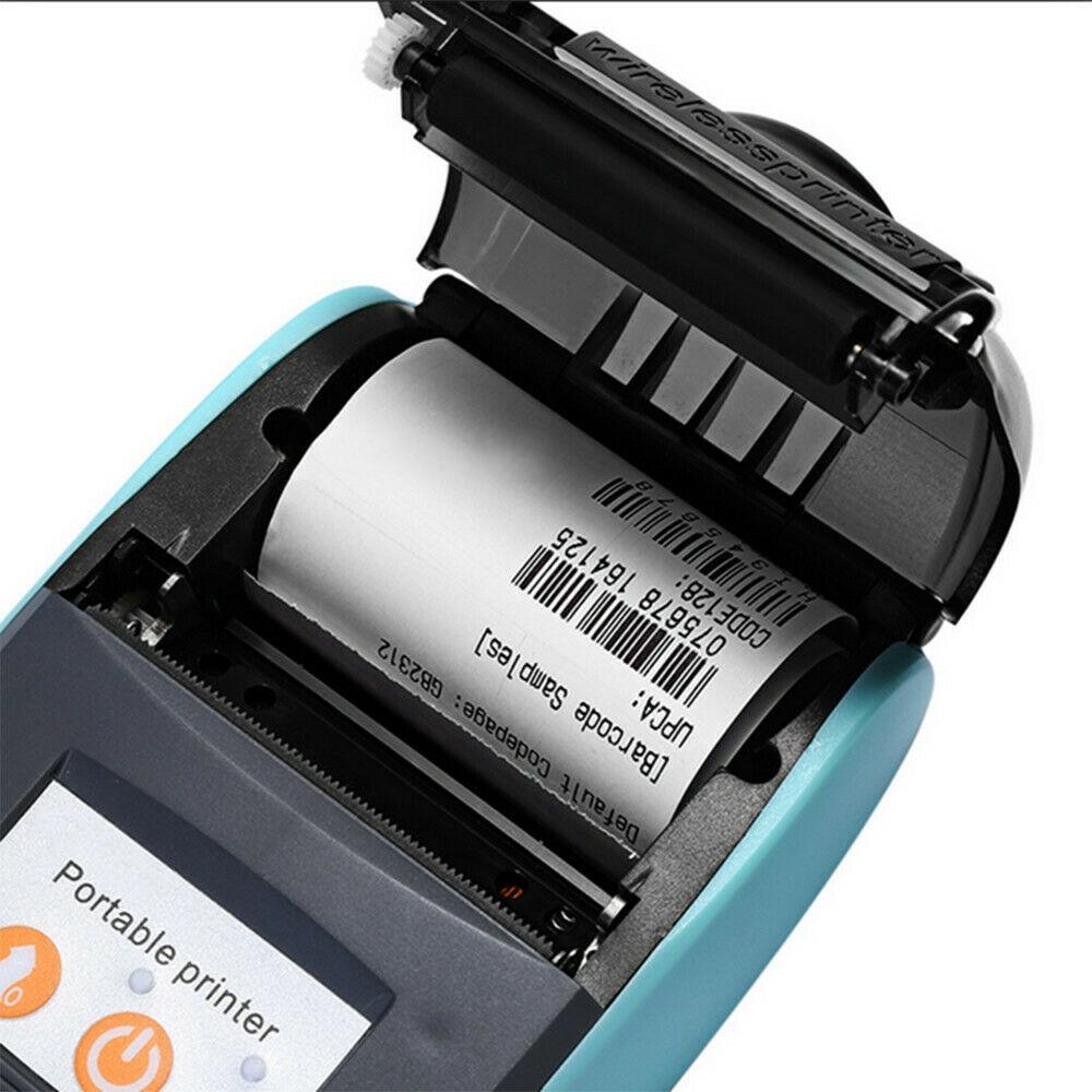 Redelijk Mini Draadloze Thermische Printer Bluetooth Met Carry Case 58mm Draagbare Usb Ontvangst Ticket Printer Pos Compatibel Met Ios Android Ongelijke Prestaties