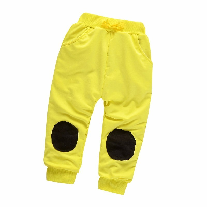 Fashion Baby Boys Girls Cotton Pants Spring Summer Children Patch Sweatpants Toddler Casual Trousers Kids Clothes 1 5 Years