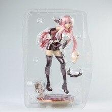 26 cm Hatsune Miku Anime figura DE ACCIÓN DE Vocaloid Megurine Luka la tentación de Bunny Girl Poker Ver Modelo PVC decoración escala 1/7 juguete