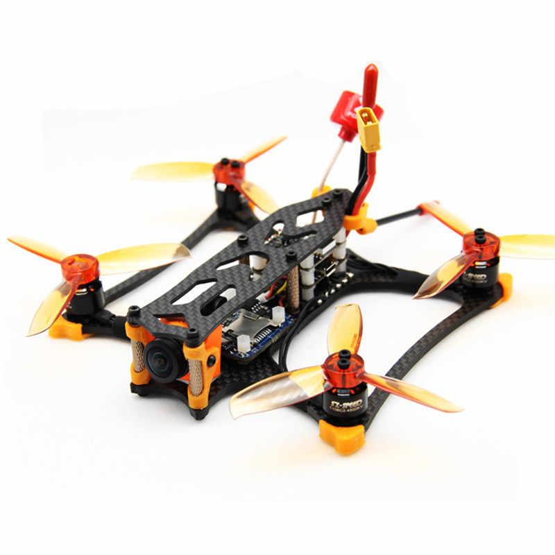 ZJWRC KBAT136 136mm Base de ruedas 3 pulgadas 3mm 30,7g Kit de marco de brazo para modelos de carreras RC Drone FPV piezas de Repuesto accesorios DIY