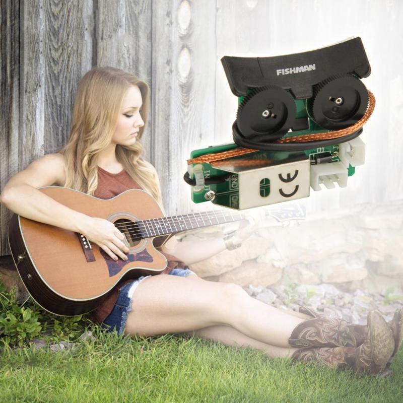 acoustic guitar pickup system for fishman vt1 tail nail pickup eq diy tuner piezo pickup. Black Bedroom Furniture Sets. Home Design Ideas