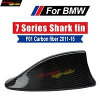 F01 Car Roof Antenna Shark Fin Carbon Fiber B Style For F02 740i 750i 760i 740li 750li 740lixD Shark Fin Antenna Cover 2011 2015