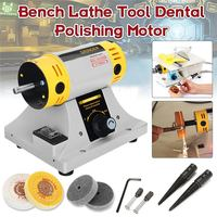 350W Adjustable Speed Mini Polishing Machine For Jewelry Motor Tool Lathe Bench Grinder Kit US/EU Plug Polisher