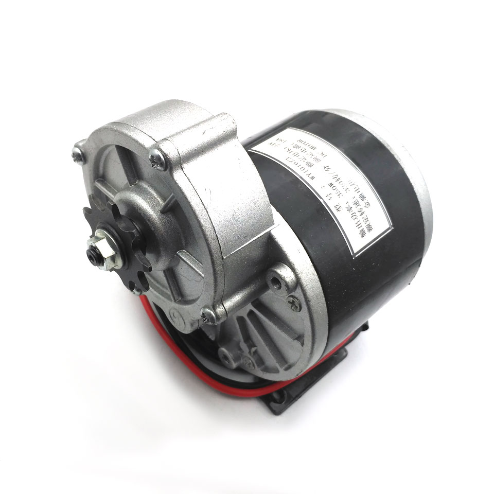 350W 24V <font><b>36V</b></font> Gear <font><b>Motor</b></font> Electric Tricycle Brush DC <font><b>Motor</b></font> Gear <font><b>Brushed</b></font> <font><b>Motor</b></font> My1016Z3 For E Bike Motorcycle image