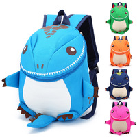 Kindergarten Backpack Dinosaur Cartoon Bag Children's School Bag Light Weight
