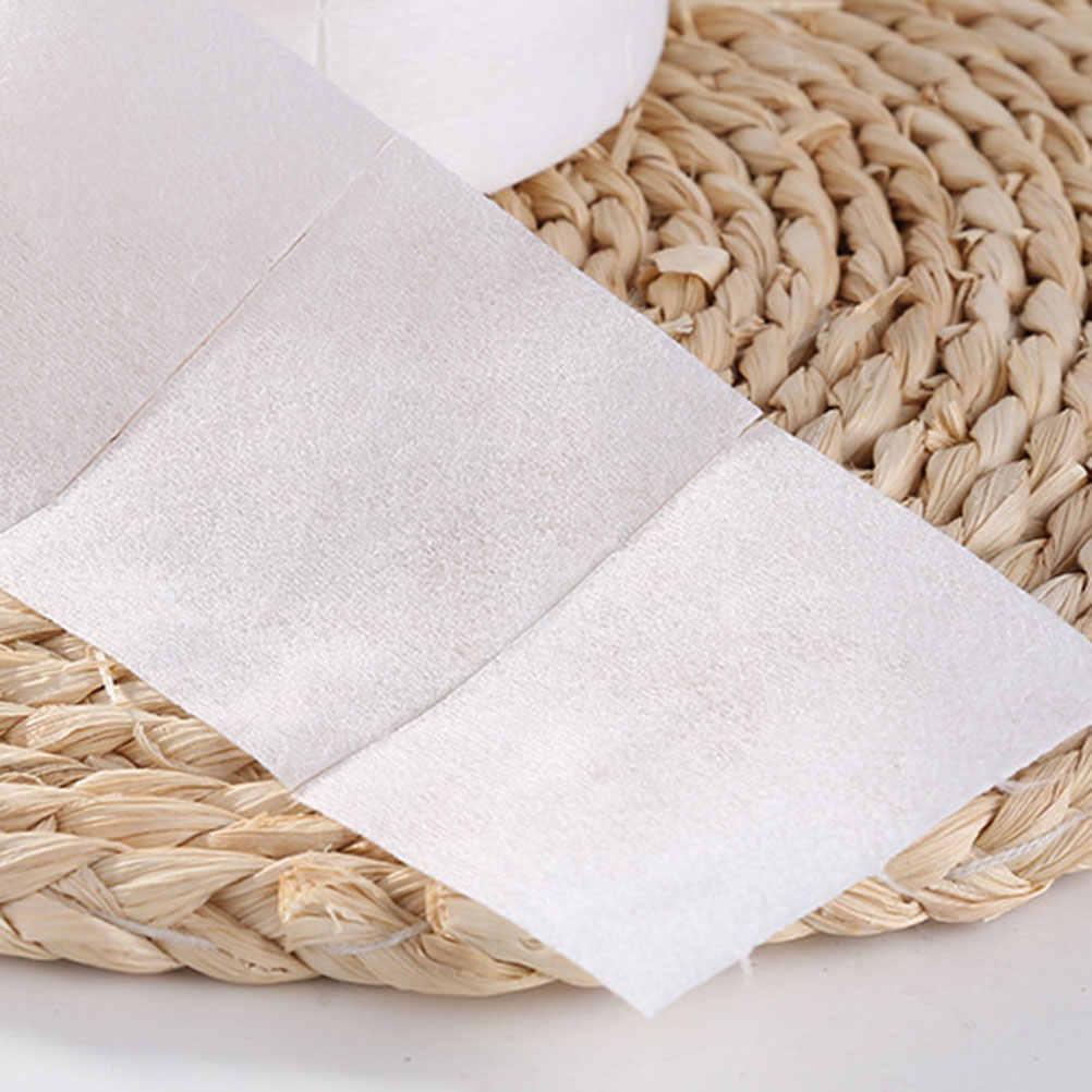 600 piezas almohadillas de algodón removedor de maquillaje portátil desechables Facial de algodón limpio almohadillas de algodón pieza para arte de uñas maquillaje cuidado de la piel