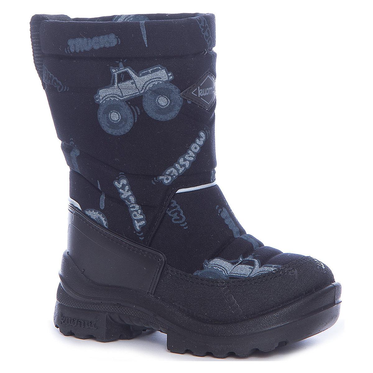 Boots KUOMA for boys 7047117 Valenki Uggi Winter shoes Children Kids MTpromo reima boots 8624989 for boys winter boy children shoes