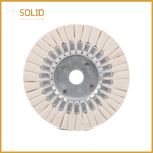 Image 2 - 6 inch Cotton Airway Buffing Cloth Wheel Polishing Pad 20mm Bore for a Mirror Finish on Aluminum And Stainless Polishing Tool