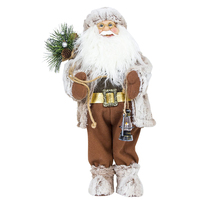 1 pc Santa Claus Doll Cute Cartoon Tabletop Ornaments for Party Home Office Holiday Christmas Decorations For Home