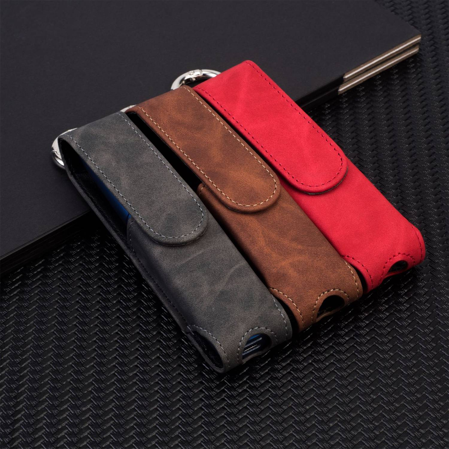 Soft Fabric Leather Bag For Case For Iqos 3 Multi Cigarette Accessories Carrying Protective Case Cover For Iqos 3 Multi