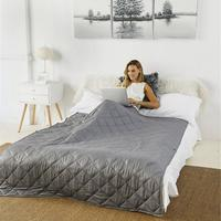 Plaids Gravity Weighted Blanket Glass Beads Ventilation Relieve Stress Autism Anxiety Disorders Human Arc Decompression Blanket