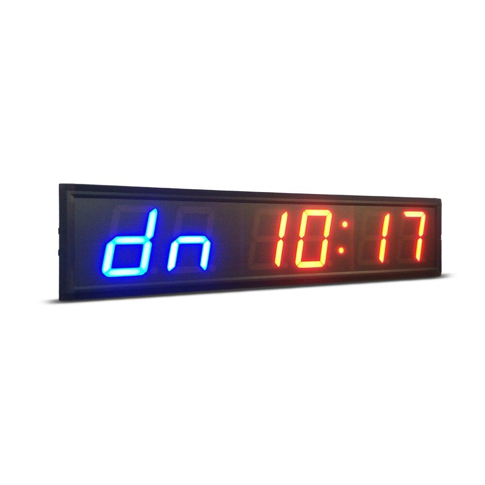 Удаленный control4inch GYM Crossfit таймер светодио дный интервальный таймер время обучения и время отдыха альтернативный CountdownCount как секундомер